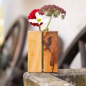 Holzvase aus Birnenholz in der Special Edition