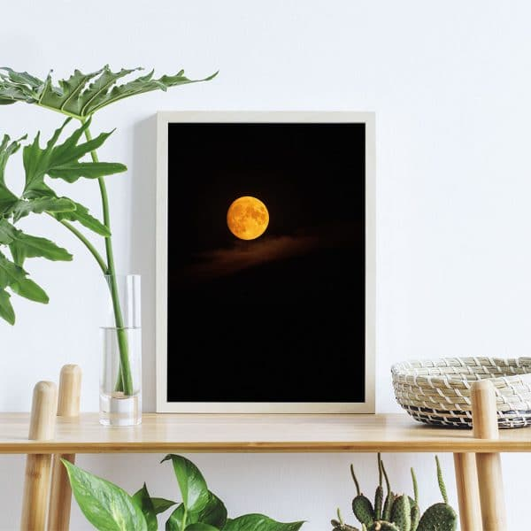 Fotodruck Mond