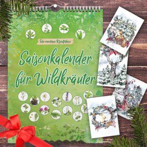 Weihnachtsset mit Saisonkalender und Weihnachtskarten